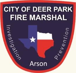 Fire Marshal's Badge