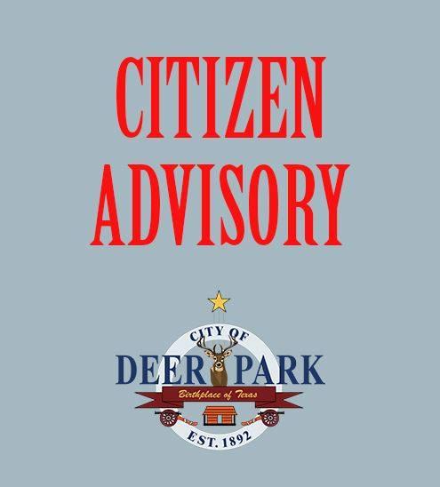 deer park water bill
