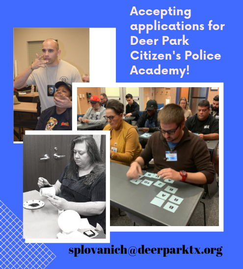 website CITIZENS POLICE ACADEMY